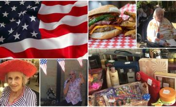 American Elvis Day Collage