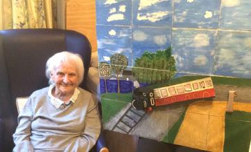 Elm Bank care home in Kettering take part in brighterkind's create challenge