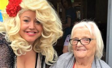 Broadway Halls Care Home, Dudley-Resident Florence meets Dolly