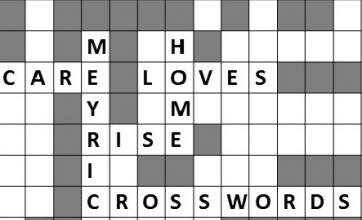 We love our crosswords here at Meyrick Rise