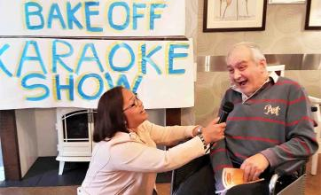 Kingston Care Home's Wow Factor 'bake off' and karaoke showcase