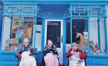 A trip back in time for Leeming Bar Grange Care Home