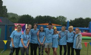 Team members raring to compete in this year's It's a knockout