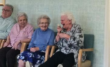 Bamfield Lodge Care Home has got the giggles!
