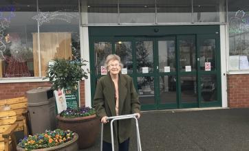 Gwen at Strikes Garden Centre