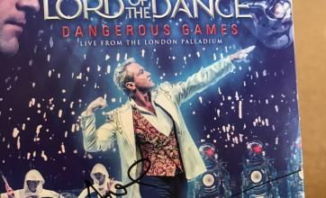 A signed copy Lord of the Dance