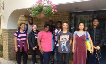 NCS students visit Uplands