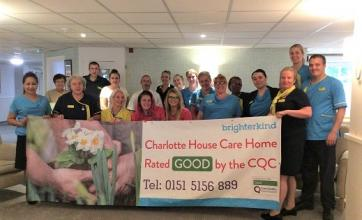 The Charlotte House team - bursting with pride