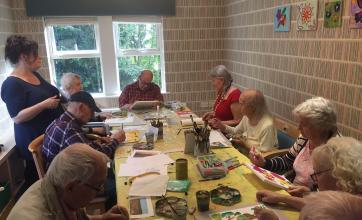 Cookridge Court arts and crafts