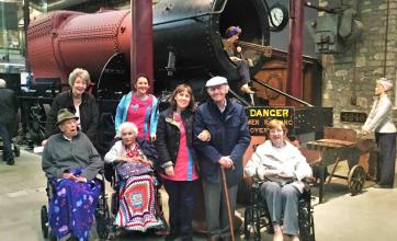 Cepen Lodge Care Home's grand day out to STEAM Museum