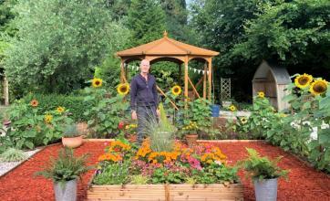 brighterkind's Flowerdown Care Home in Winchester transforms their garden