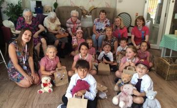 Mill House Care Home's Teddy Bears' picnic