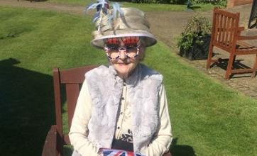 Lucy Clarke dressed to celebrate a royal wedding