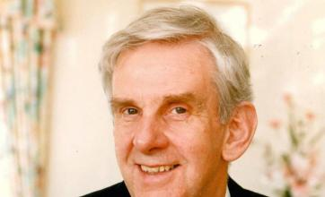 Dr. John Millward photographed in 1994 by The Bournemouth Echo