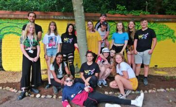Local teens transform memorial garden at Meyrick Rise Care Home