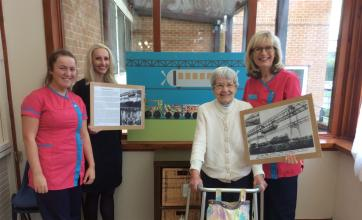 Buchanan Lodge Care Home in Bearsden take part in brighterkind's create challenge