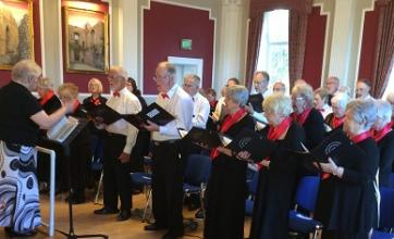 Singing for Pleasure perform to raise money for the Yorkshire Air Ambulance