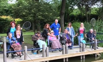 Springfield House Care Home, Staffordshire-Residents and team members enjoying their fishing trip