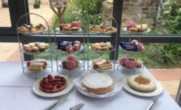 Our afternoon tea party for The Big Lunch