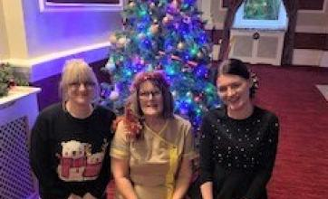 The Granby Care Home in Harrogate have a Christmas party