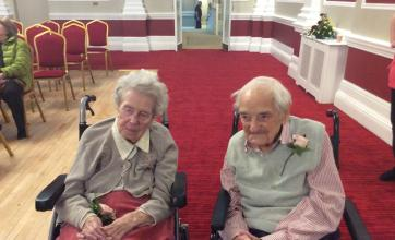 Mr and Mrs Hammond have been married for over 70 years