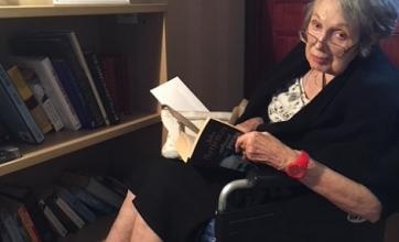 Anne in her bespoke reading corner