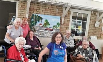 Highfield care home in Ware completes brighterkind's create challenge