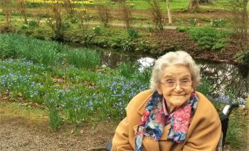 Residents from Leeming Bar Grange Care Home enjoy a day out at Thorp Perrow Arboretum