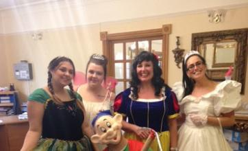 The Henleigh Hall team dressed as their favourite characters