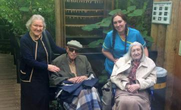 The Granby Care Home in Harrogate took a trip on the Oomph! minibus to Tropical World