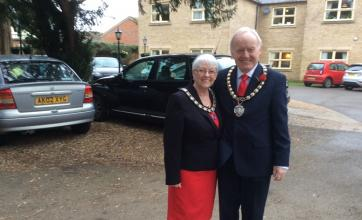 The Mayor and his wife join us for our Once upon a Valentine celebration