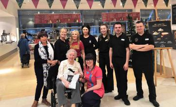 Anne-Marie's wish to reunite with lifelong friend in Manchester with Scarborough Hall Care Home