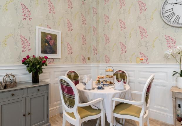 Angusfield dining room