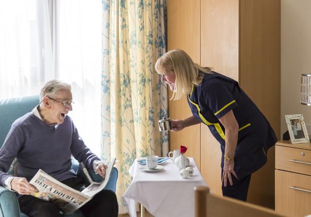 Buchanan House palliative care in Bearsden