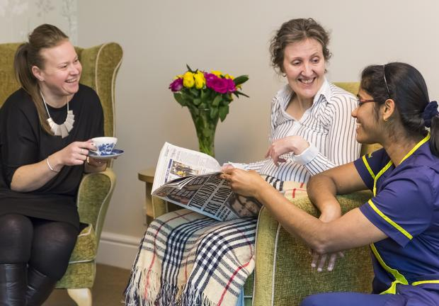 Kind nursing care at Charlotte House