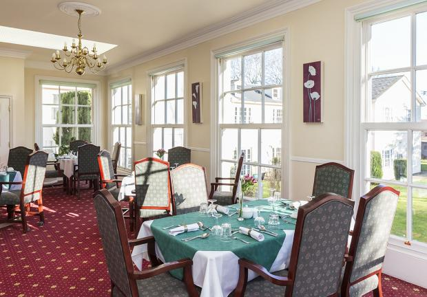 Ross Court dining room