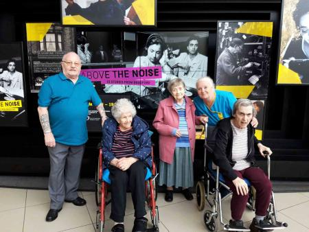 Residents at Avery Mews Care Home visit the National Science and Media museum in Bradford