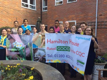 Hamilton House celebrate 'good' CQC report