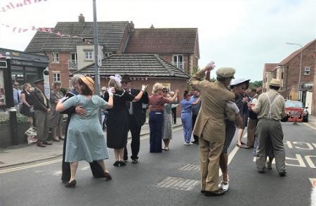 Bridlington town's 1940s festival