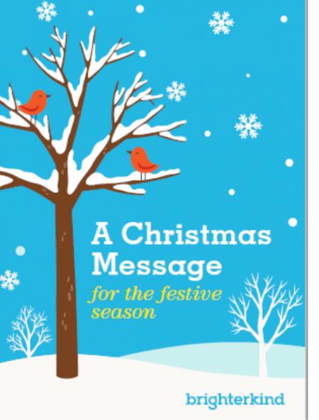 A Christmas message news image