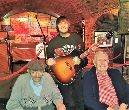 Residents at Charlotte House Care home in Bebington enjoy a trip to The Cavern Club in Liverpool
