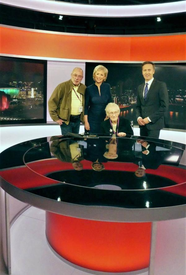 A wish come true to visit the BBC Scotland Studios at Clarence Court Care Home