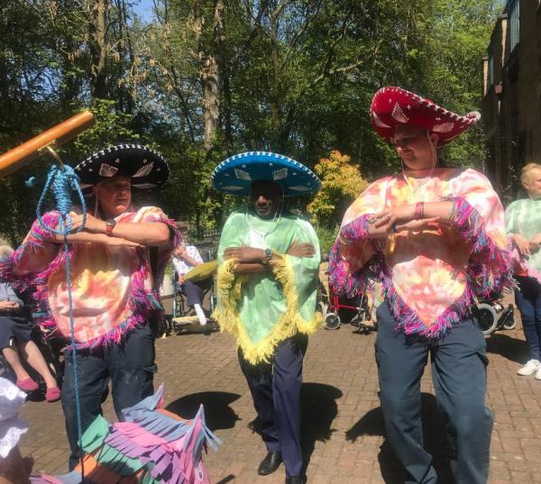 Henleigh Hall in Beauchief near Sheffield bring Fiesta to residents