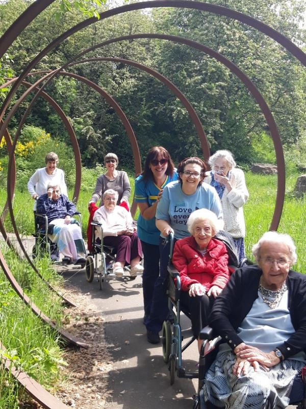 Avery Mews Care Home, West Yorkshire-Enjoying our walk in the countryside for Dementia Action Week