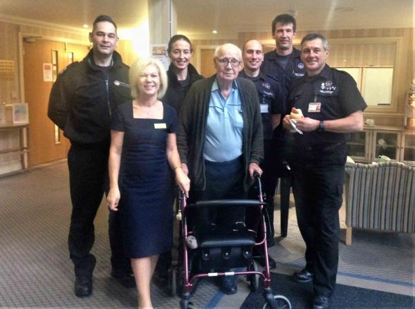 Cookridge Court Care Home hosts breakfast club to say 'thank you' to our West Yorkshire 'Blue Light' professionals