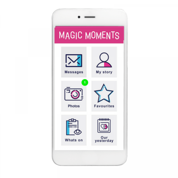St Oswalds House Care Home Launches Their New Magic Moments Club App