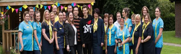 St Oswalds House Care Home in Warrington and Harry Styles