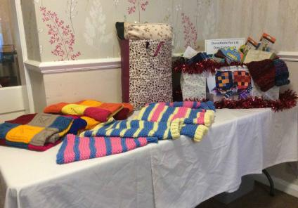 We also donated hand-knitted dog jumpers and blankets to keep them warm over winter!
