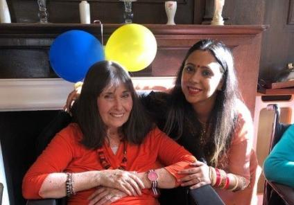 Hungerford Care Home in West Berkshire celebrate Diwali