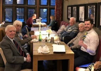 The resident gentlemen at The Granby had a special 'gent's pub trip' where they enjoyed a wonderful pub lunch at the nearby Pine Marten Pub. The chaps loved having a good natter over lovely food and drinks!